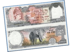 One Thousand Nepali Rupee